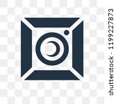 photograph vector icon isolated ... | Shutterstock .eps vector #1199227873