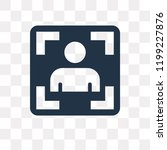 photograph vector icon isolated ... | Shutterstock .eps vector #1199227876