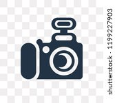 photograph vector icon isolated ... | Shutterstock .eps vector #1199227903