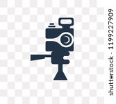 photograph vector icon isolated ... | Shutterstock .eps vector #1199227909