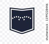 jeans pocket transparent icon....   Shutterstock .eps vector #1199228446