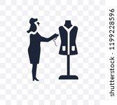 sewing clip art transparent... | Shutterstock .eps vector #1199228596