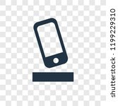 smartphone vector icon isolated ...