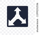 reaction transparent icon.... | Shutterstock .eps vector #1199231536