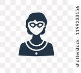 librarian vector icon isolated...   Shutterstock .eps vector #1199233156