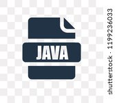 java vector icon isolated on... | Shutterstock .eps vector #1199236033