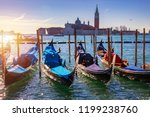 sunny day in san marco square ... | Shutterstock . vector #1199238760