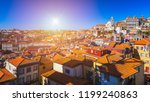 porto  portugal old town on the ... | Shutterstock . vector #1199240863