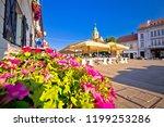 samobor main square colorful... | Shutterstock . vector #1199253286