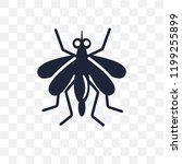 mosquito transparent icon.... | Shutterstock .eps vector #1199255899