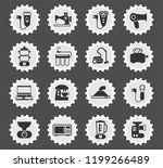 home appliances web icons... | Shutterstock .eps vector #1199266489