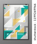 abstract geometric composition...   Shutterstock .eps vector #1199269966