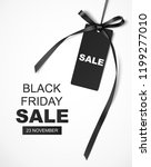 black friday sale design... | Shutterstock .eps vector #1199277010
