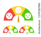 emotion feedback concept....   Shutterstock .eps vector #1199282980