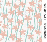 marker flowers  dashes and...   Shutterstock .eps vector #1199285626