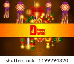 vector illustration of colorful ... | Shutterstock .eps vector #1199294320