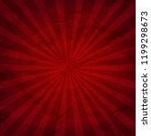 dark red sunburst background... | Shutterstock .eps vector #1199298673