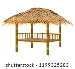 straw hut vector design | Shutterstock .eps vector #1199325283