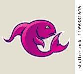 vector illustration of magenta... | Shutterstock .eps vector #1199331646