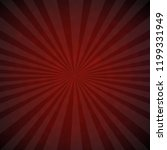 dark red burst retro poster | Shutterstock . vector #1199331949