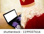 Sinterklaas With Notebook....