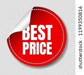 best price label set... | Shutterstock . vector #1199350816