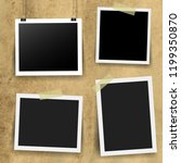 photo frame collection  | Shutterstock . vector #1199350870