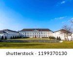 berlin  germany   february 25 ...   Shutterstock . vector #1199370130