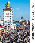 munich  germany   october 4 ...   Shutterstock . vector #1199370763