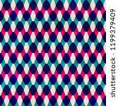 zigzag vintage seamless pattern  | Shutterstock . vector #1199379409