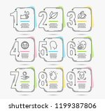 infographic template with... | Shutterstock .eps vector #1199387806