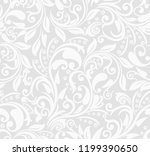 seamless grey background with... | Shutterstock .eps vector #1199390650