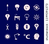 bulb icon. bulb vector icons... | Shutterstock .eps vector #1199391373