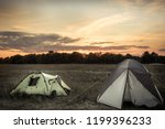 Camping Tents On Camping Sites...
