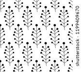 floral seamless pattern texture ... | Shutterstock .eps vector #1199409670