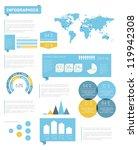 set elements of infographics.... | Shutterstock .eps vector #119942308