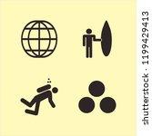 adventure icon. adventure...   Shutterstock .eps vector #1199429413