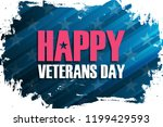united states veterans day... | Shutterstock .eps vector #1199429593