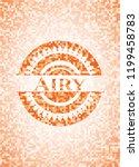 airy orange mosaic emblem   Shutterstock .eps vector #1199458783