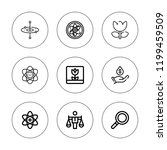 core icon set. collection of 9... | Shutterstock .eps vector #1199459509