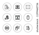 cursor icon set. collection of... | Shutterstock .eps vector #1199460736