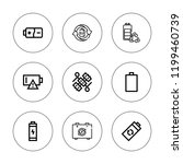 recharge icon set. collection... | Shutterstock .eps vector #1199460739