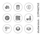 switch icon set. collection of... | Shutterstock .eps vector #1199460763