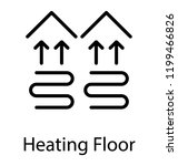 heating system and heating... | Shutterstock .eps vector #1199466826