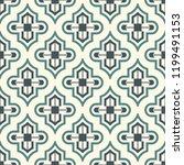 oriental traditional pattern.... | Shutterstock .eps vector #1199491153