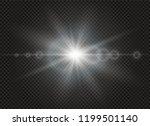 sunlight a translucent special... | Shutterstock .eps vector #1199501140