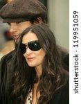 ashton kutcher and demi moore... | Shutterstock . vector #119951059