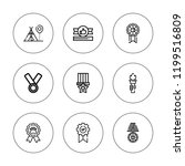 games icon set. collection of 9 ...   Shutterstock .eps vector #1199516809