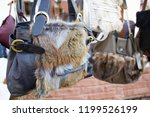 selective focus  bags made out... | Shutterstock . vector #1199526199