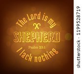 Bible Verse From Psalm  The...